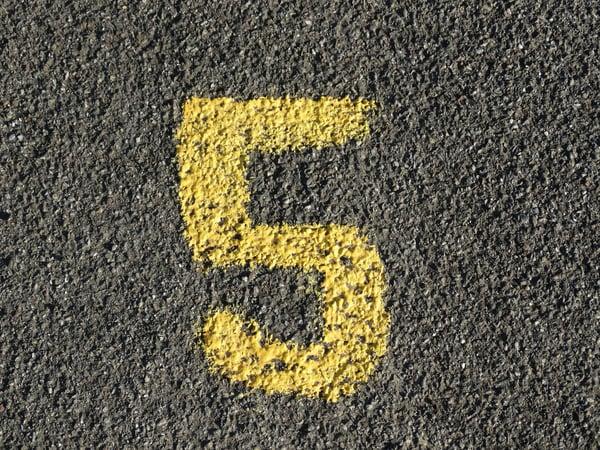 5 reasons...