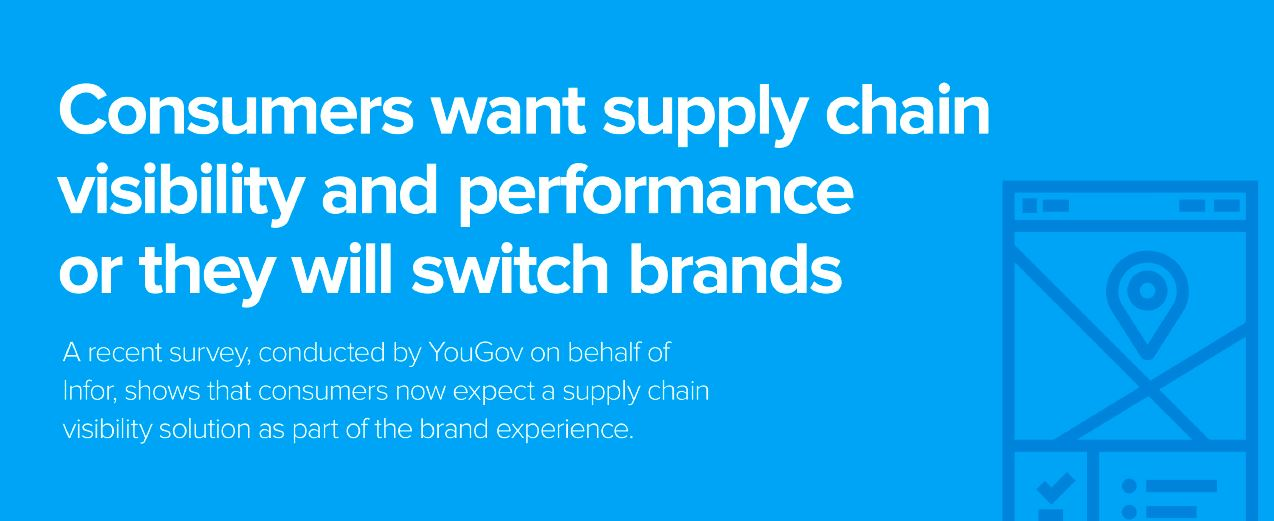 Consumers want supply chain visibility
