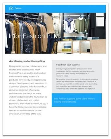 Infor Fashion PLM-1
