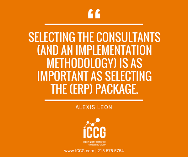 Selecting a Consultant
