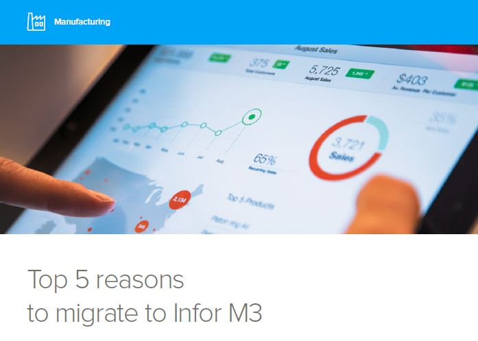 Top 5 Reasons to Migrate to Infor M3-1